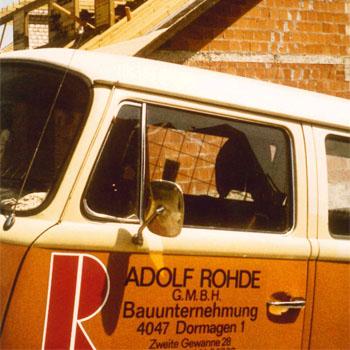 Die Adolf Rohde GmbH steht für Erfahrung, Zuverlässigkeit und Qualität